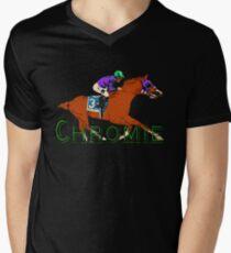California Chrome Chromie  Men's V-Neck T-Shirt