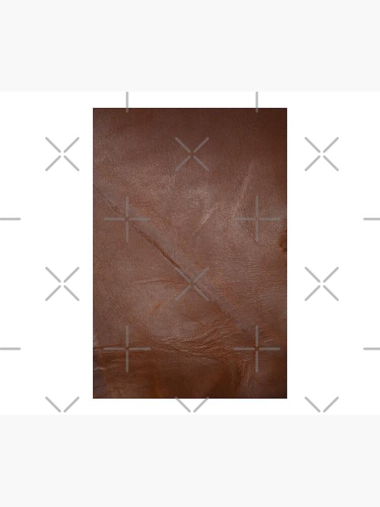 2D Photo-Sampling Faux Brown Leder-Effekt von RavenPrints