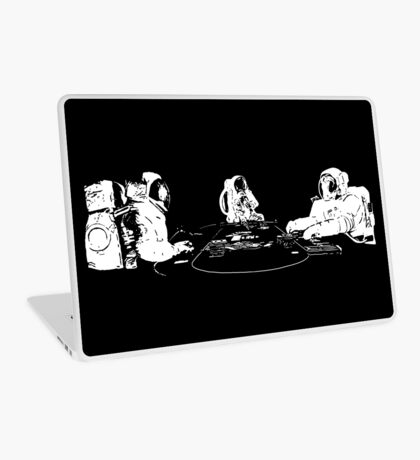 SPACE POKER Laptop Skin