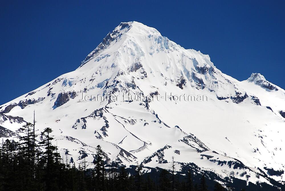 Magestic Mt Hood by Jennifer Hulbert-Hortman