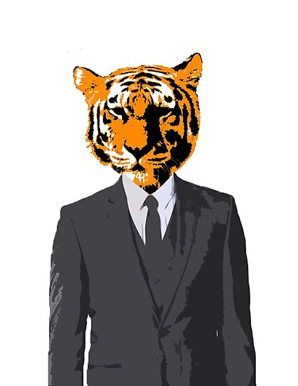Tiger Businessman by SirMittensIII