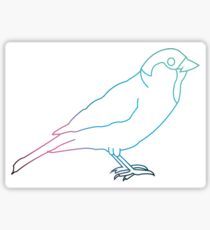 Sparrow Sticker