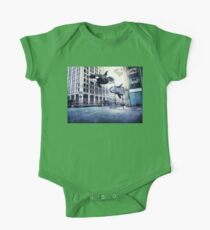 City of whales One Piece - Short Sleeve