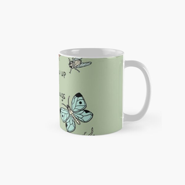 I'll F★ck you Up if you're Mean to Bugs Classic Mug