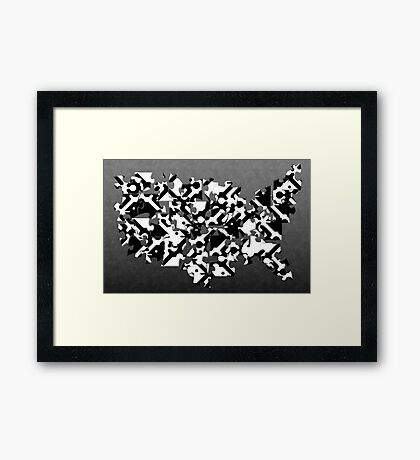 The Missing Peace Framed Print