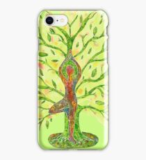 Yoga - Tree Pose iPhone Case/Skin