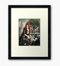 Siteya Ganaya, elf priestess and healer Framed Print
