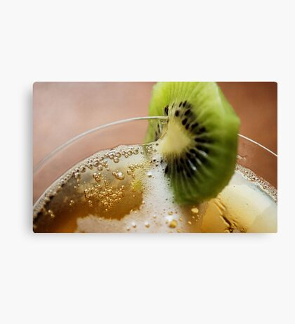 NOTHING LIKE AN KIWI COOLER ON A HOT DAY! Canvas Print