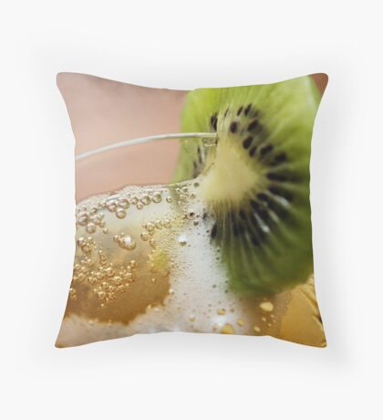 NOTHING LIKE AN KIWI COOLER ON A HOT DAY! Throw Pillow