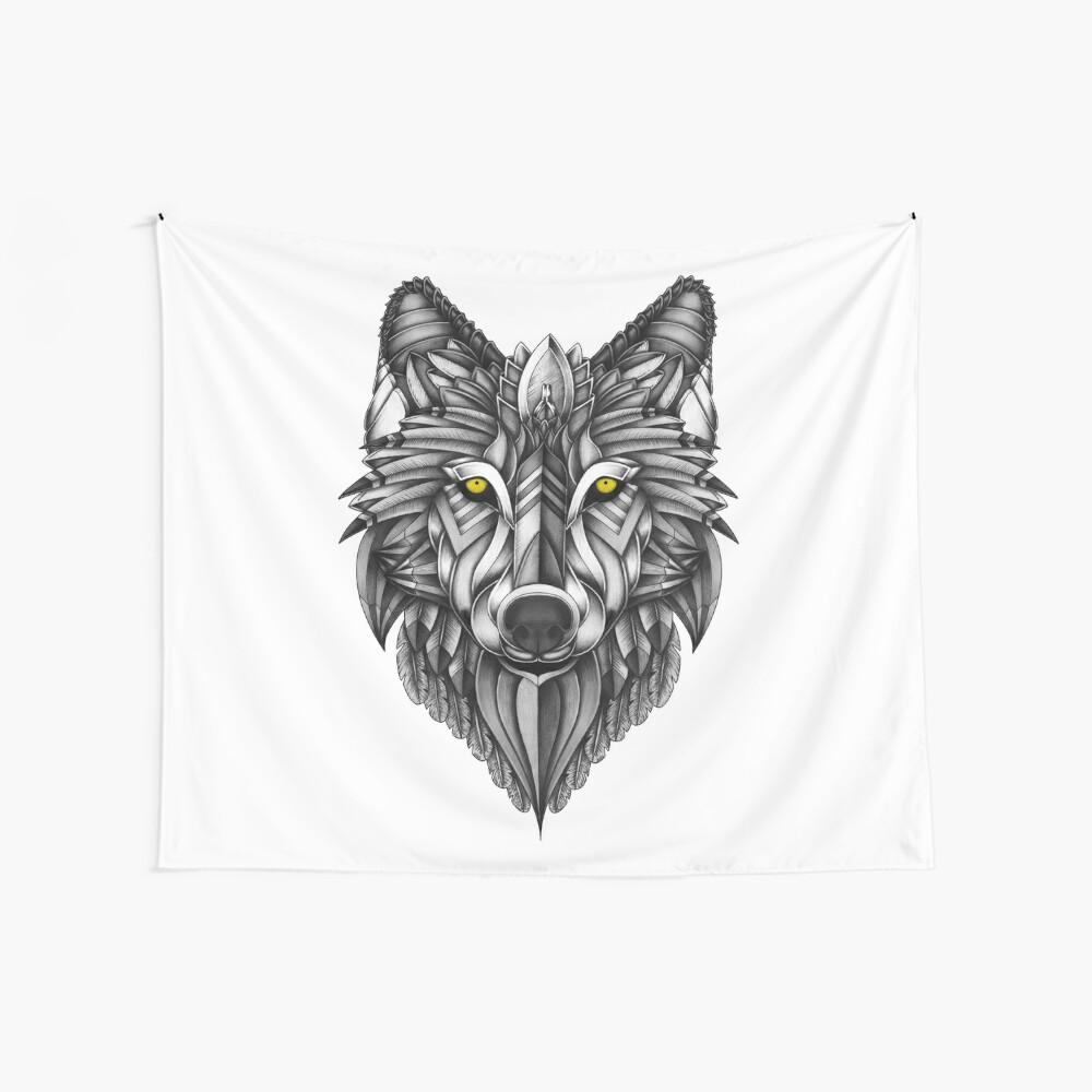 Ornate Wolf Tela decorativa