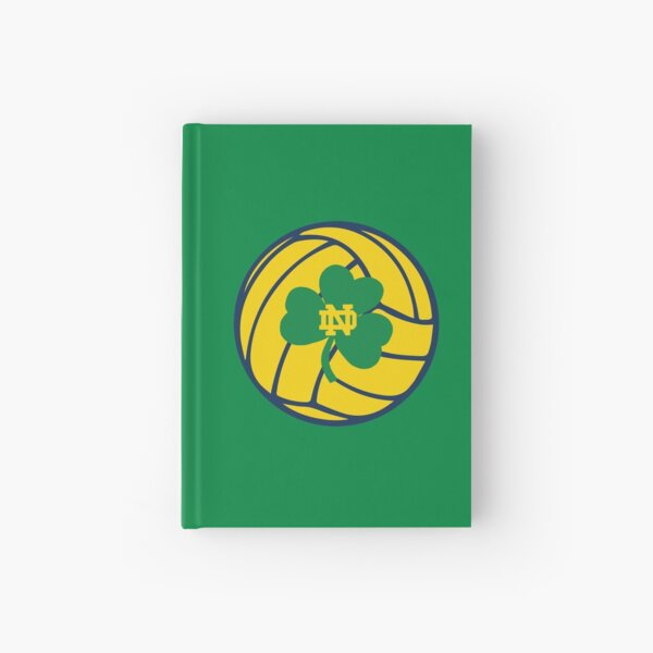 Notre Dame Water Polo Shamrock Ball  Hardcover Journal