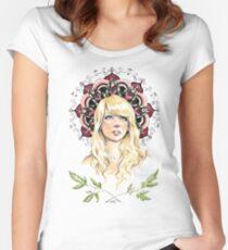 Mandala Girl Women's Fitted Scoop T-Shirt