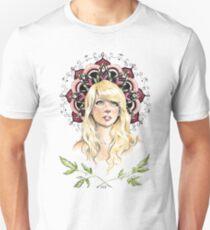 Camiseta ajustada Chica Mandala