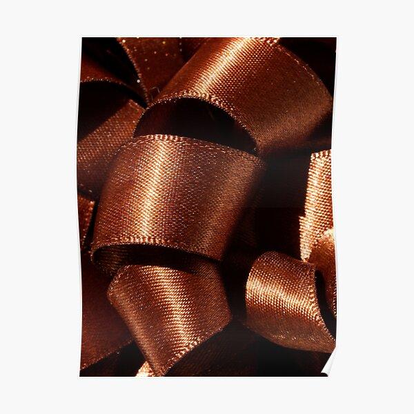 Chocolate Swirls Poster