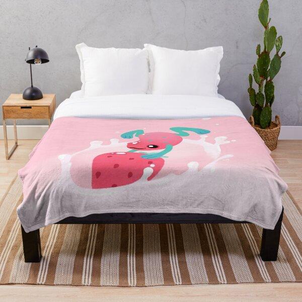 Strawberry poison milk 1 Throw Blanket