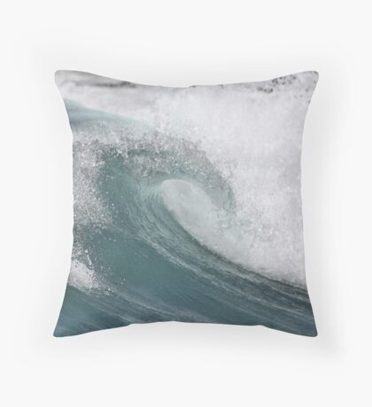 La Perouse Wave Throw Pillow