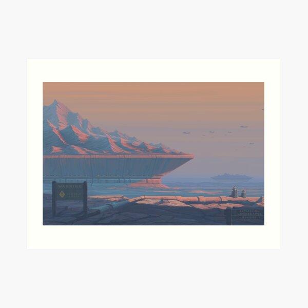 Sunrise 6.03am Art Print