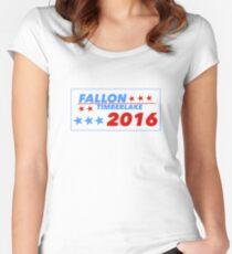 Fallon/Timberlake 2016 Women's Fitted Scoop T-Shirt