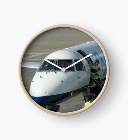 Glückliche Landungen - Flughafen Edinburgh Uhr