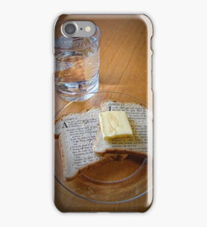 Bread of Life, Living Water iPhone Case/Skin
