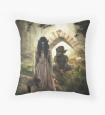 Are You My Daddy? Throw Pillow