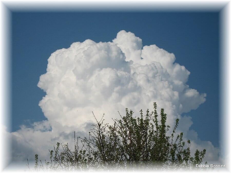 Cloud Volcano by Debbie Robbins