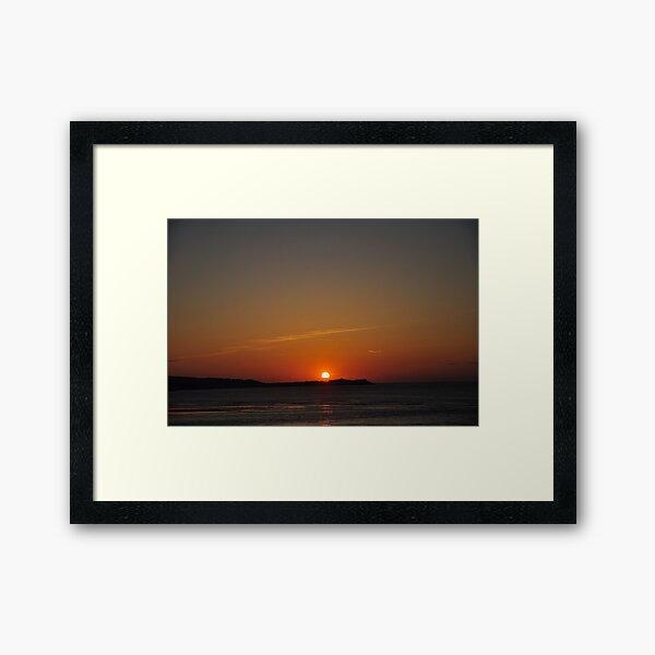 St Ives Sunset Framed Art Print