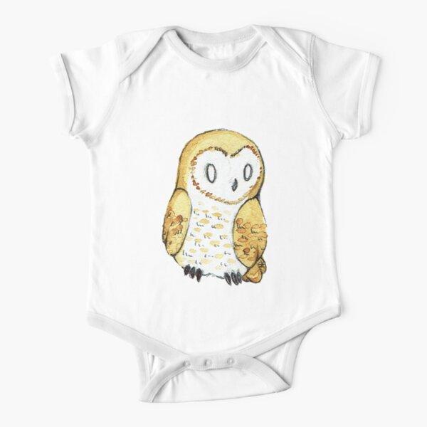 Owl Tattoo Drawing Mystic Long Sleeve Neutral Baby Onesies Bodysuit Funny for Newborn Boys Girls