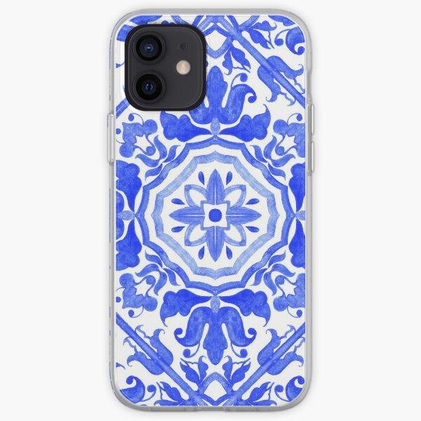 Carreaux d'azulejo portugais. Coque souple iPhone