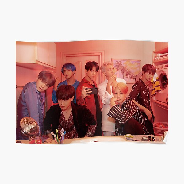 map of the soul: persona version 2 (group) Poster