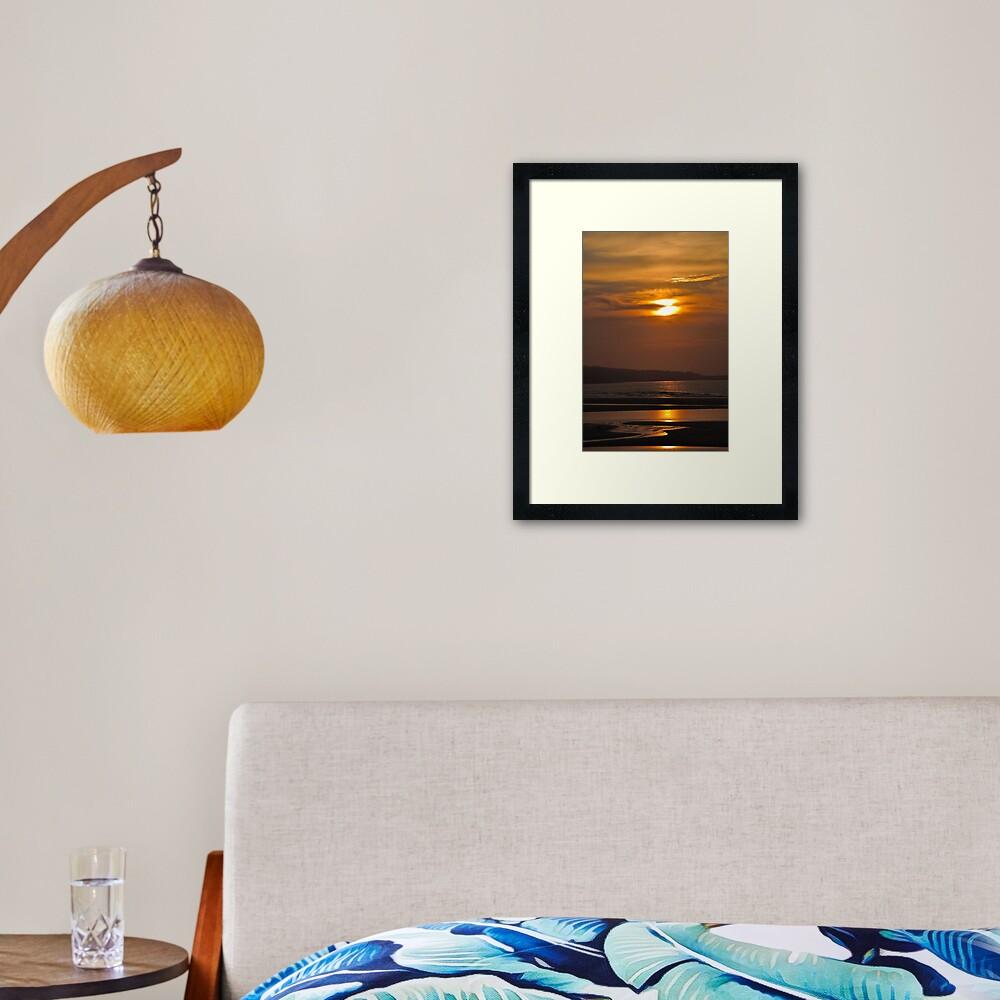St Ives Sunset 2 Framed Art Print