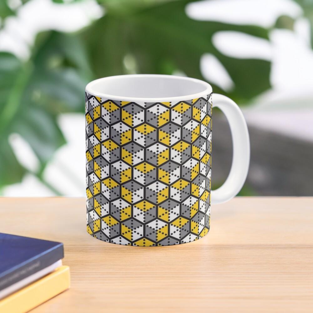 Geometric Cubes Mug