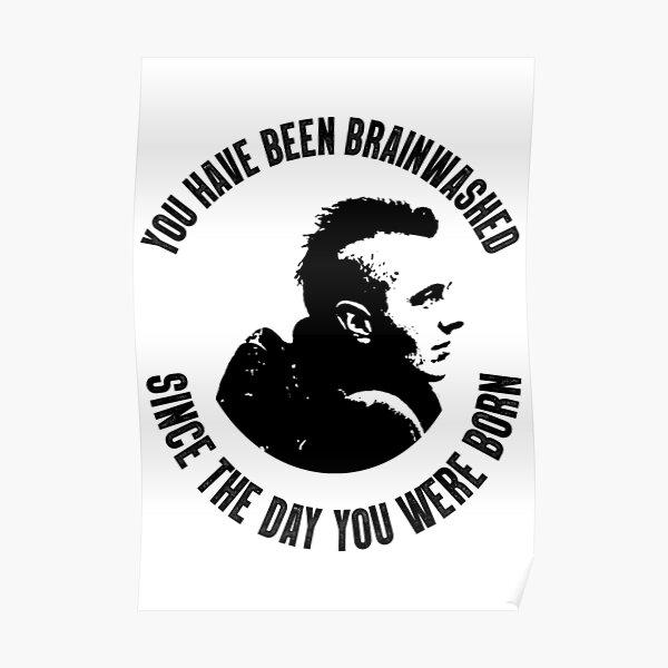 JOE STRUMMER - You Have Been Brainwashed - Poster