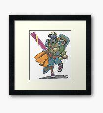 Dungeons & Dragons & MF DOOM Framed Print