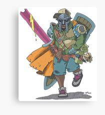 Dungeons & Dragons & MF DOOM Canvas Print