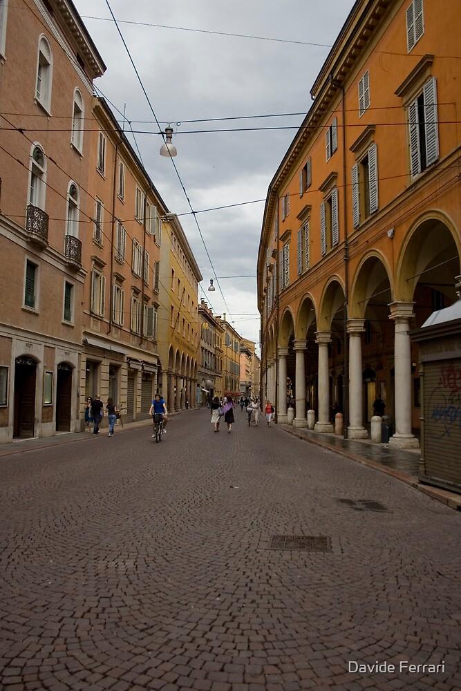 A long way home,Via Emilia Centro,Modena,Italy by Davide Ferrari