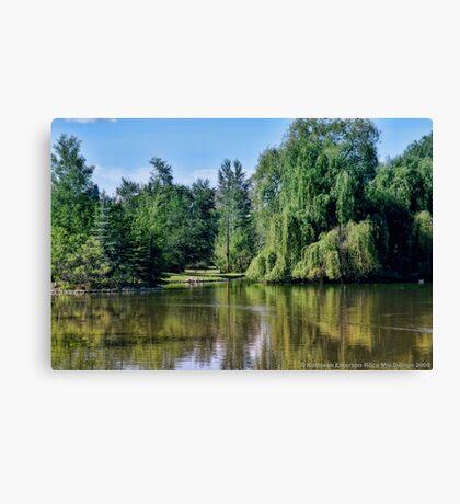 Woodland Park 2 Canvas Print