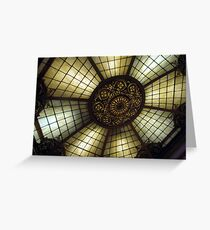 The Gilded Ceiling Greeting Card