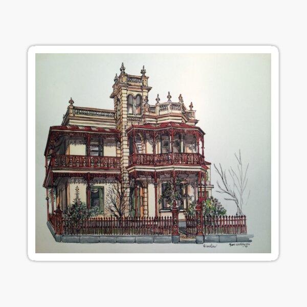 Phryne Fisher's house 'Wardlow'©.  Sticker