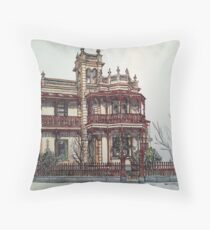 Phryne Fisher's house 'Wardlow'©.  Throw Pillow