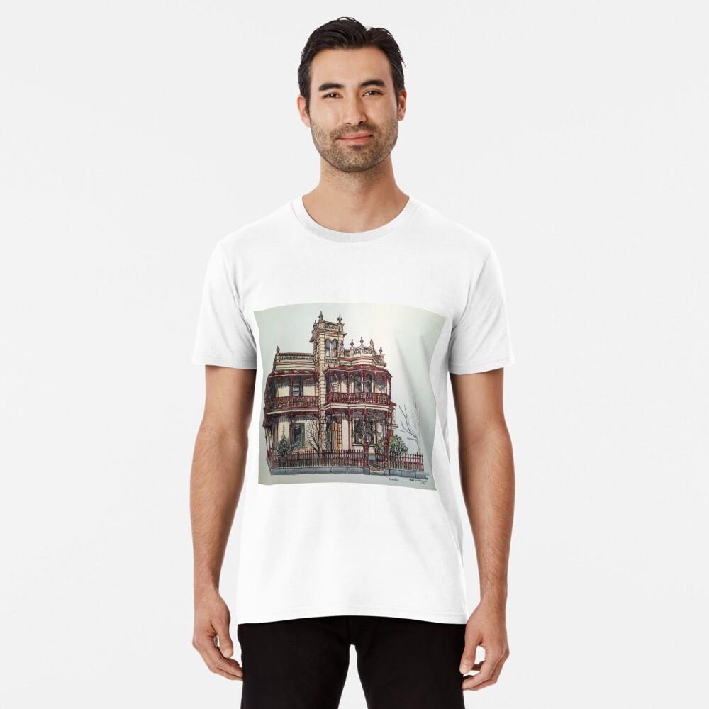 Phryne Fisher's house 'Wardlow'©.  Premium T-Shirt