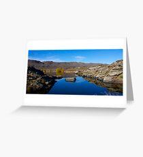 Central Otago Tarn Greeting Card