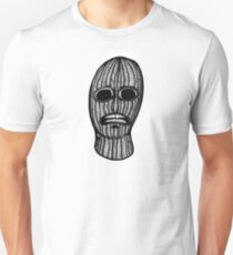 Skull in a Ski Mask Unisex T-Shirt