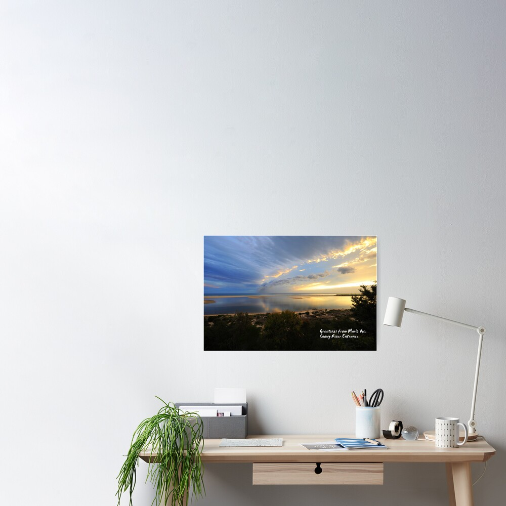 Snowy River Entrance Poster