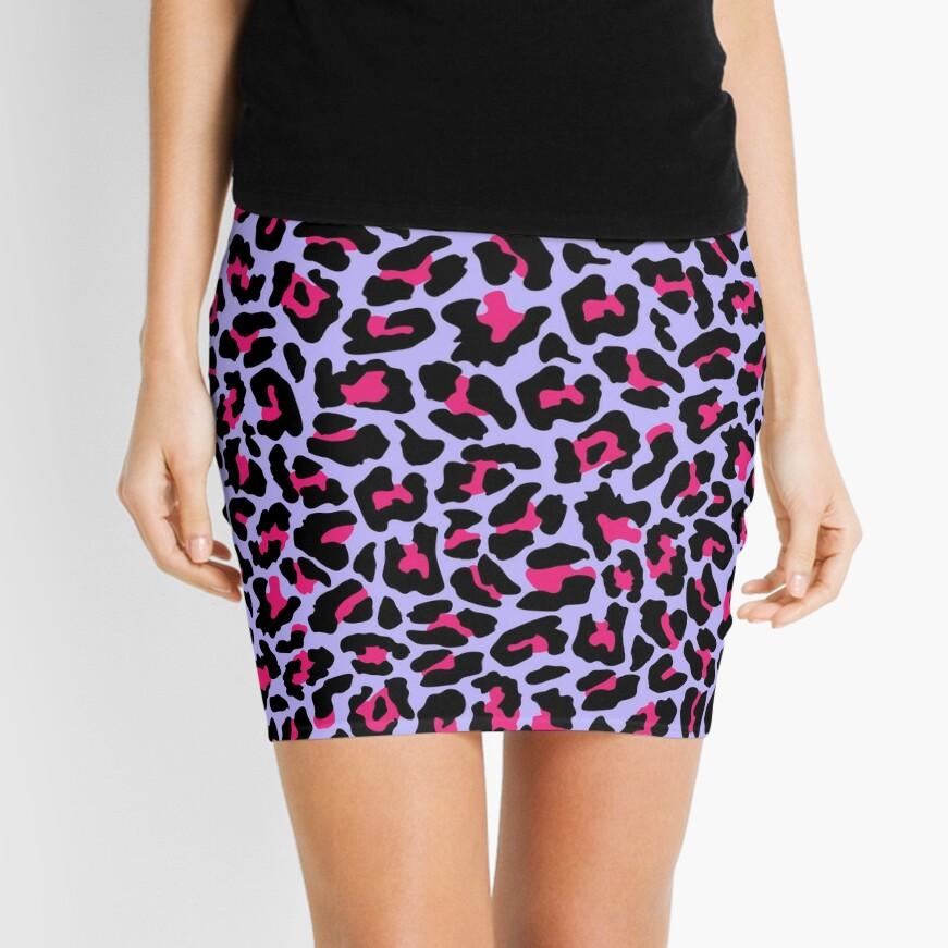 Neonpard Mini Skirt