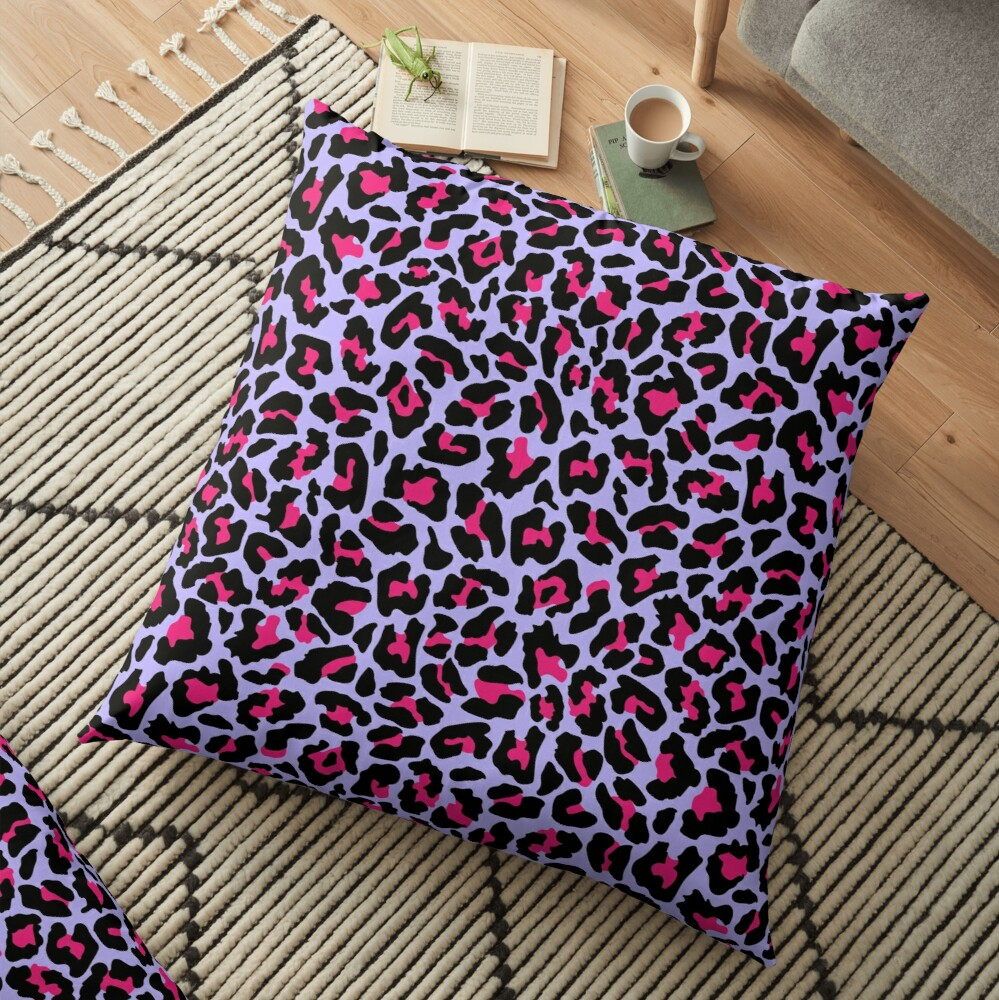 Neonpard Floor Pillow