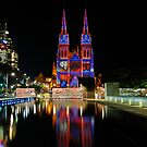 Vivid Sydney 2010 | St. Mary's Cathedral 3 by DavidIori