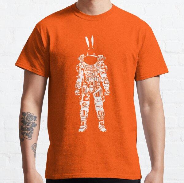Bunni Astronaut Moon Classic T-Shirt