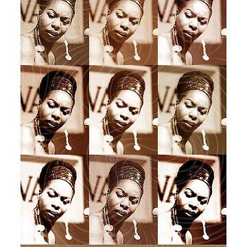 Jazz Heroes Series - Nina Simone by MoviePosterBoy