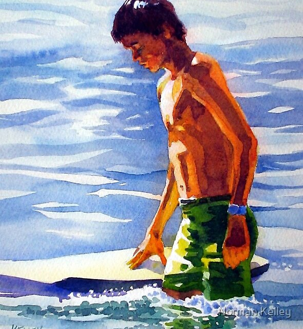 Jesse at 12 by Norman Kelley